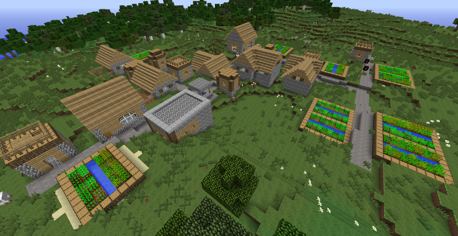 Cool Minecraft Seeds Temples