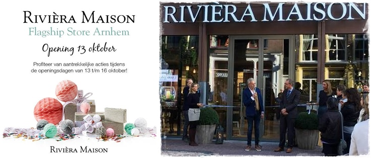 vestywo feestje in de brievenbus swap opening store riviera maison arnhem. Black Bedroom Furniture Sets. Home Design Ideas