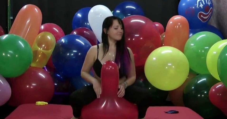 Sexo com baloes