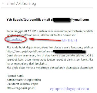 formulir NPWP online membuat NPWP pribadi di e pajak