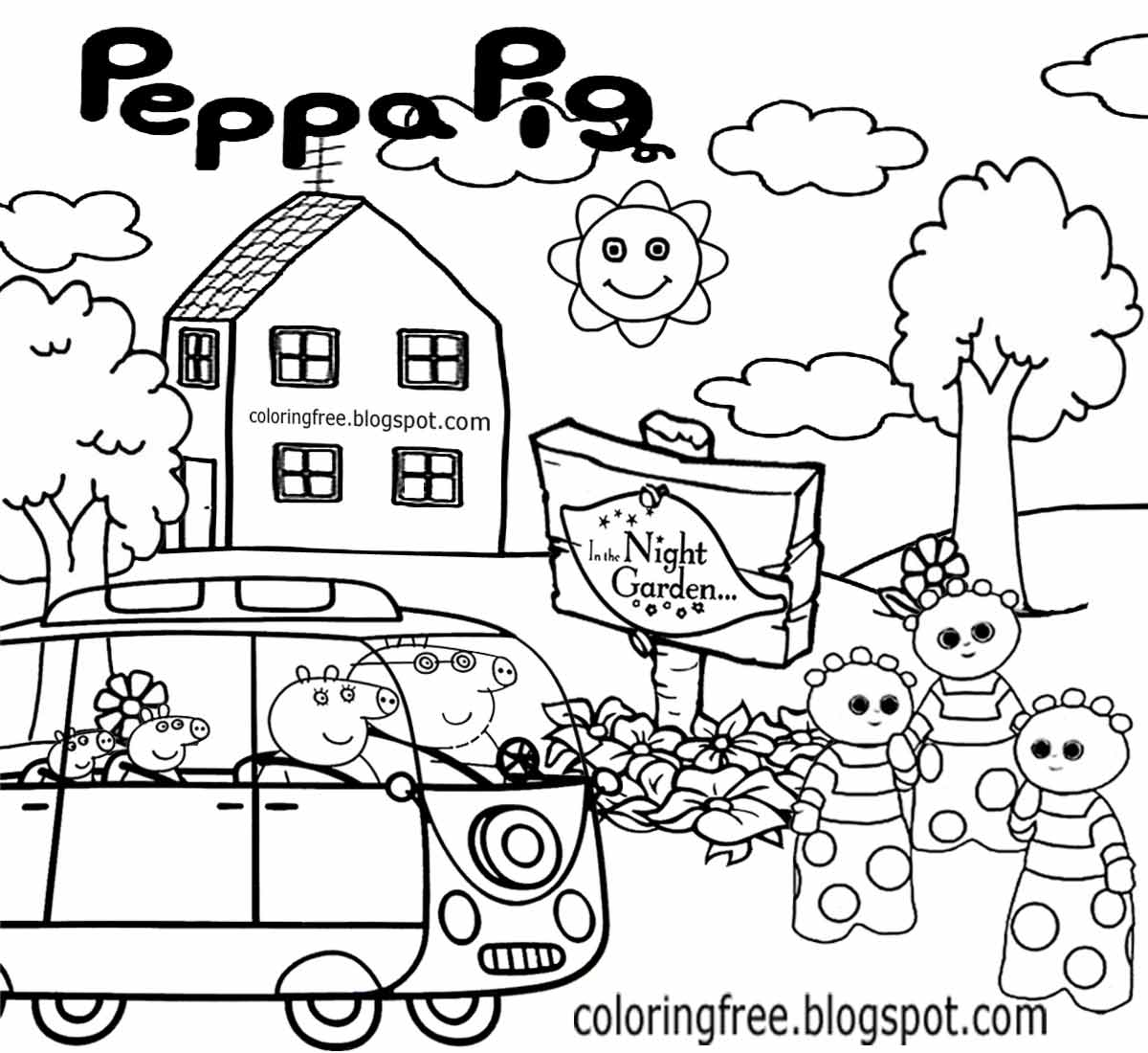 Easy Drawing For Kindergarten Ship Transportation Coloring Pages
