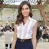 Shlomit Malka marca presença na Front Row do desfile da Chanel na Semana de Moda de Paris como parte da Alta Costura Outono / Inverno 2017-2018 em Paris, França – 04/07/2017