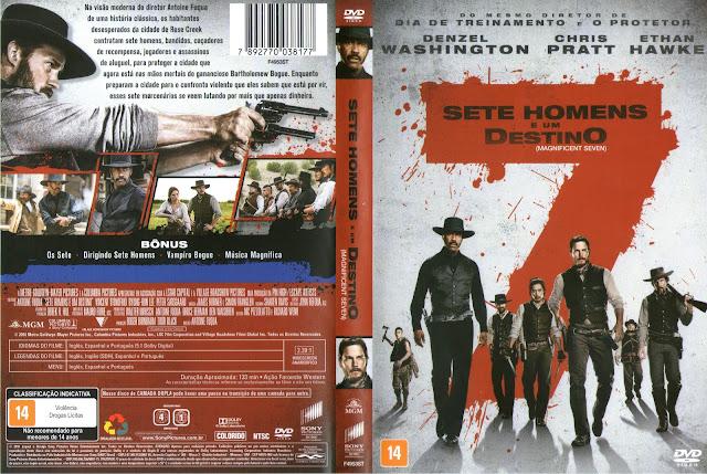 Capa DVD Sete Homens E Um Destino