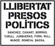 Free political prisoners in Spain