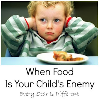 When Food Is Your Child's Enemy-How to help children who struggle with special dietary needs and/or sensory issues related to food.