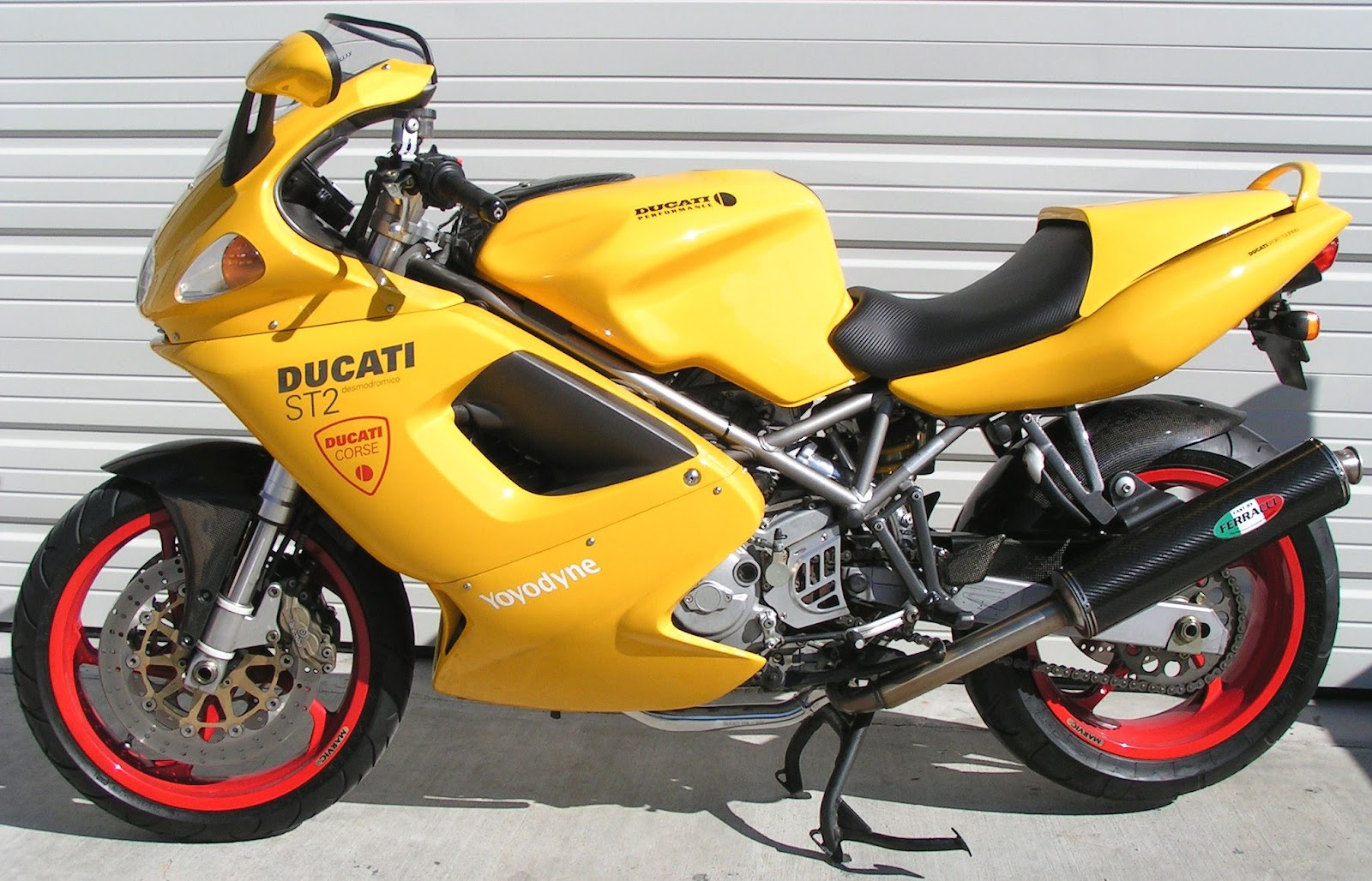 DUCATI SPORTTOURING ST2 ST4 2003 Owner Manual