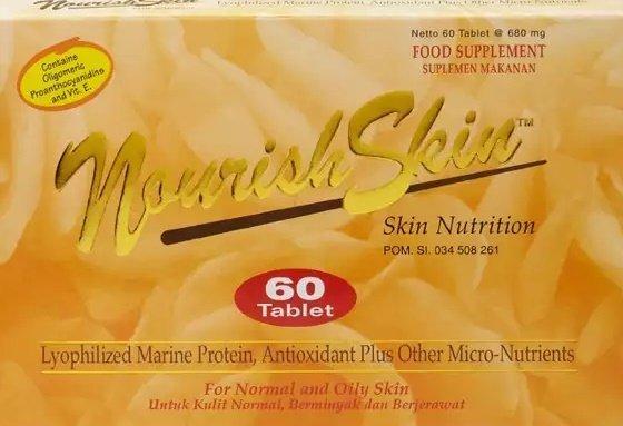 Kemasan Produk Nourish Skin