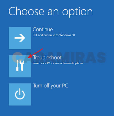 Memperbaiki Masalah Bootloader di Windows - troubleshoot