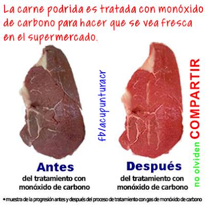 LA CARNE TRATADA CON MONÓXIDO DE CARBONO