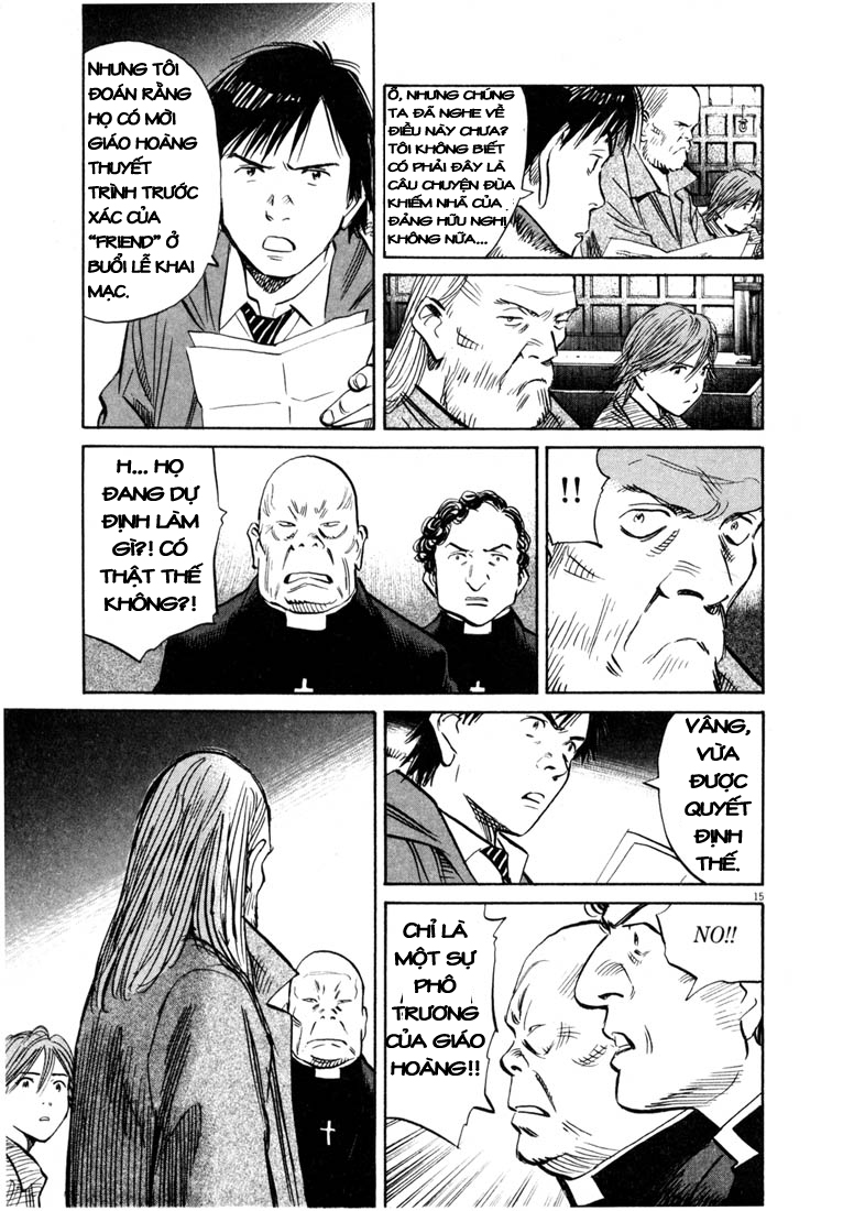 20th Century Boys chapter 165 trang 15