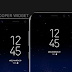 Samsung S8 Weather Widget dan Google Search Bar untuk Zooper