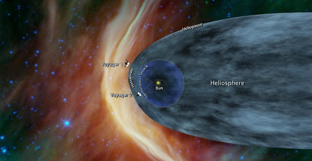 voyager 2 spacecraft could be nearing interstellar space