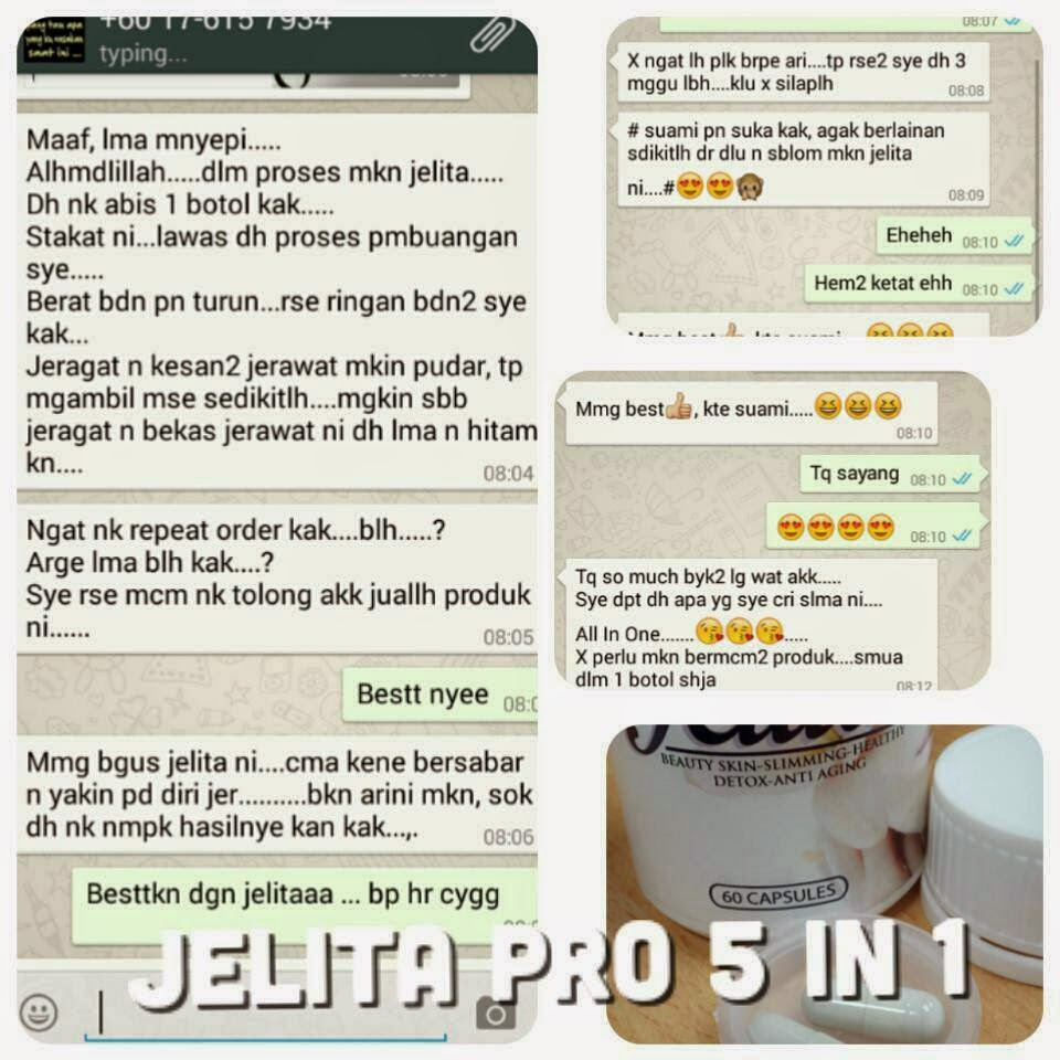 Secret Beauty and Health: JAMU JELITA PRO 5