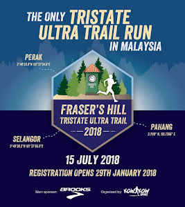 Fraser Hill Tristate Ultra Trail Run 2018 - 15 July 2018