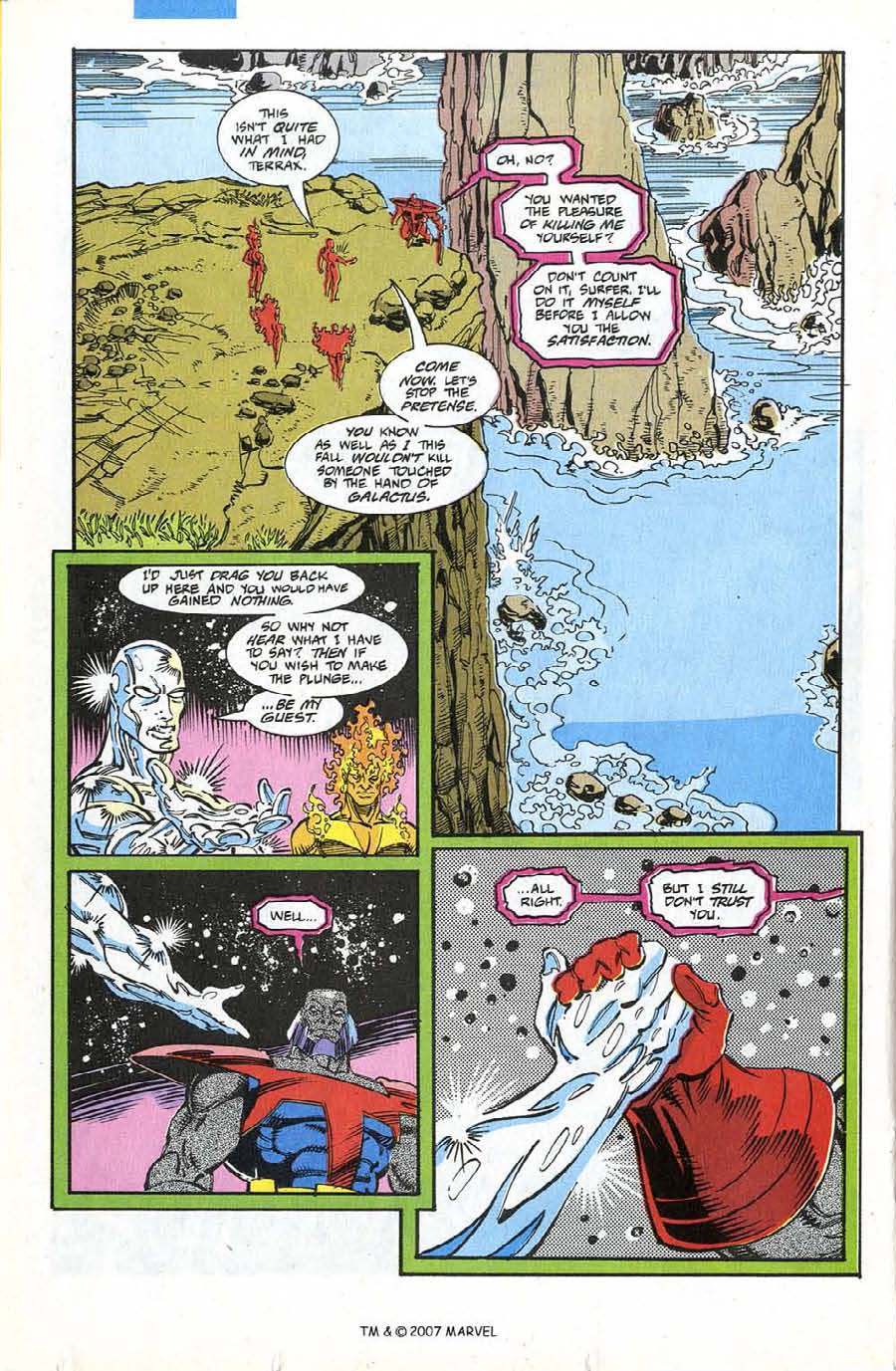 Read online Silver Surfer (1987) comic -  Issue #74 - 20