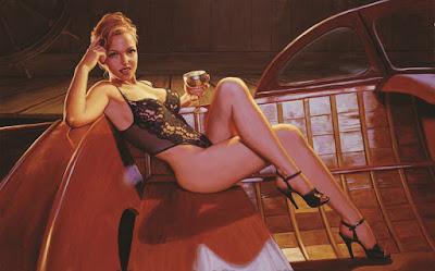 Cuadros Eroticos Oleo Desnudos Femeninos Greg Hildebrandt