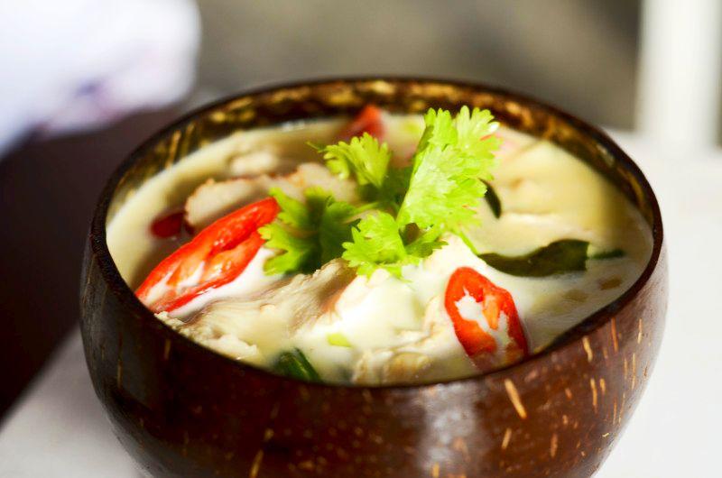 Tajskie zielone Curry czyli Green Curry z mlekiem kokosowym na ostro