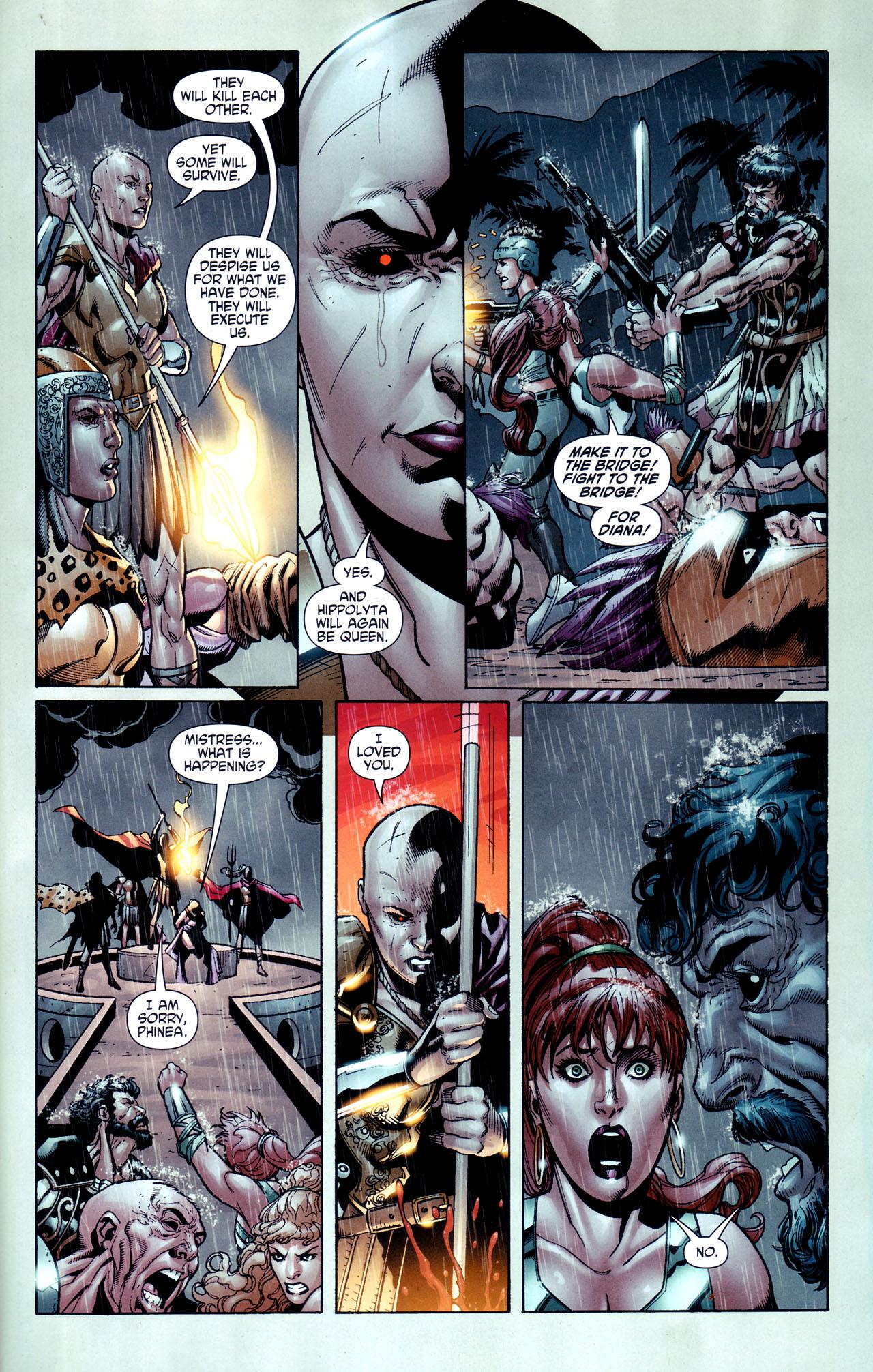 Read online Wonder Woman (2006) comic -  Issue #38 - 20