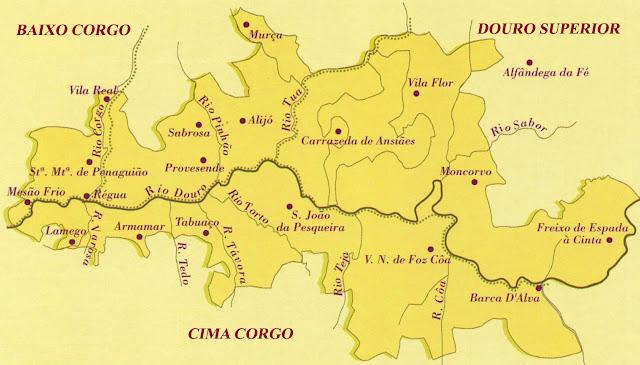 mapa região demarcada do douro Mapa Da Região Demarcada Do Douro | thujamassages mapa região demarcada do douro