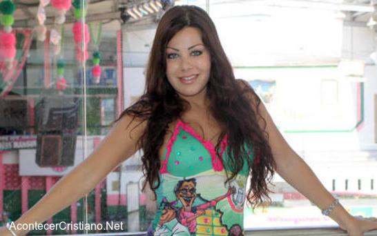Mujer cristiana participa en Carnaval de Río