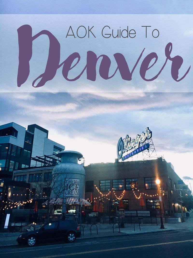AOK Guide to Denver