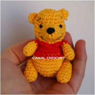 patron amigurumi Winnie Poo canal crochet
