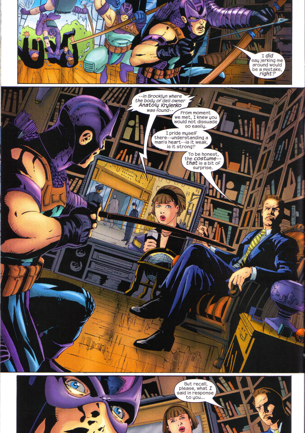 Hawkeye (2003) Issue #7 #7 - English 8