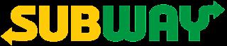warna kuning, logo subway, kuning subway
