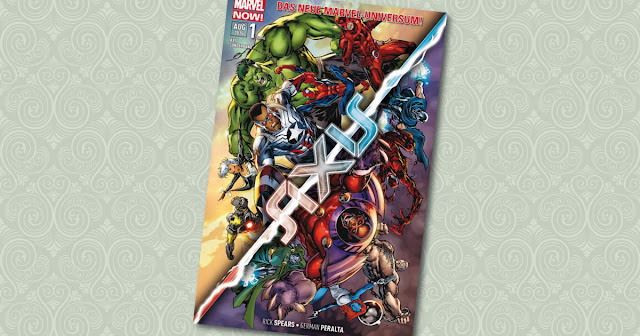 Axis Sonderband Carnage Panini Cover