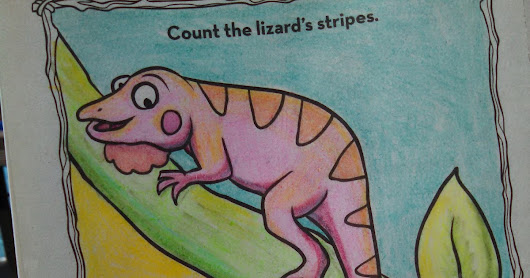 Pink Lizard Adult Coloring Adding Highlights and Shadows