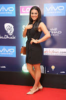 Actress Shraddha Srinath Stills in Black Short Dress at SIIMA Short Film Awards 2017 .COM 0026.JPG