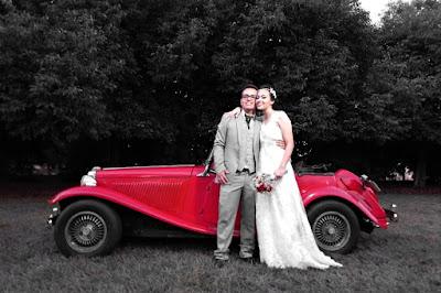 Lucas e Marta recém casados. Uma vida pela frente!