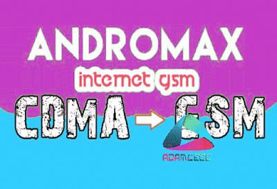 cara internet menggunakan data gsm di hp andromax