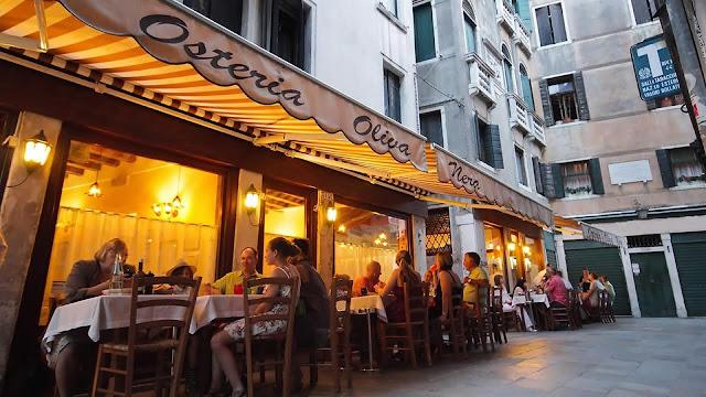 Osteria Oliva Nera in Venice