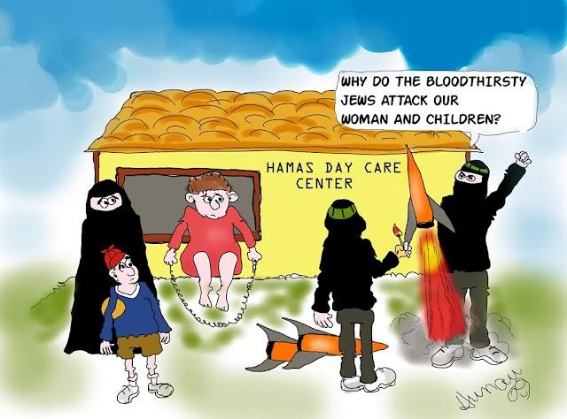 A doutrinação de crianças em Gaza