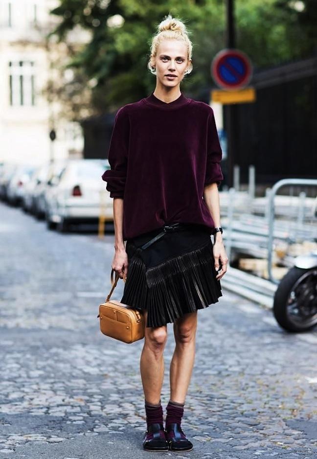 Velvet Street Style