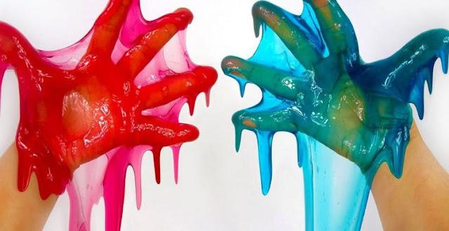 Cara Membuat Slime dari Shampo