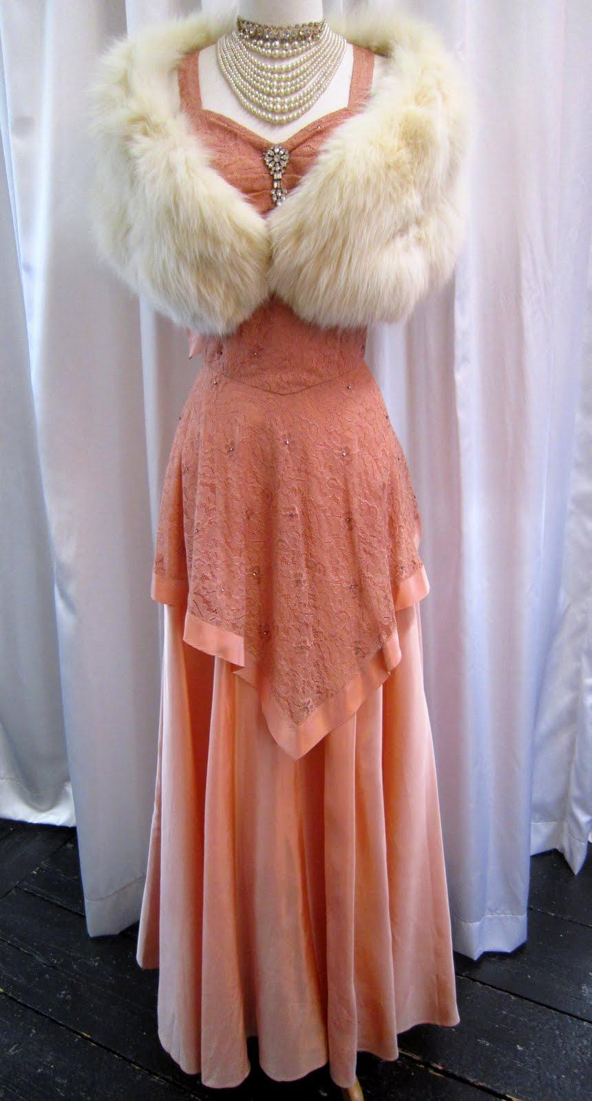 Dirty Fabulous Elegant Vintage Evening Dresses