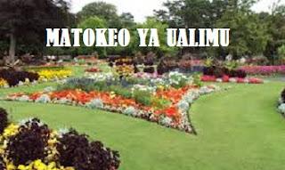 MATOKEO YA UALIMU