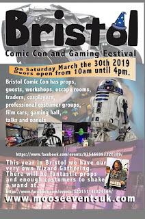 Bristol Comic Con - March 2019