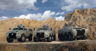 Produk Kendaraan Militer Paramount Group