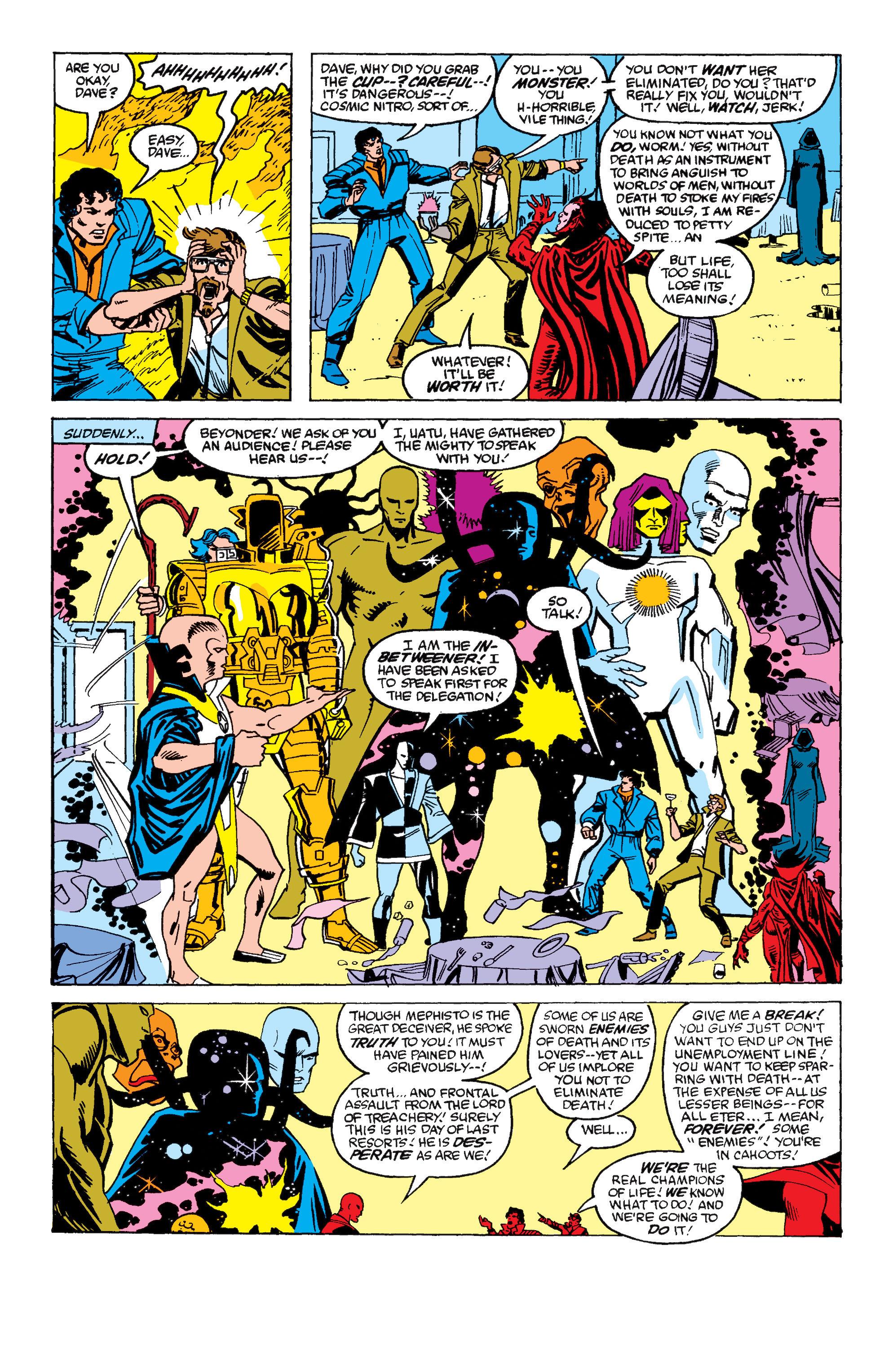 Read online Secret Wars II comic -  Issue #6 - 22