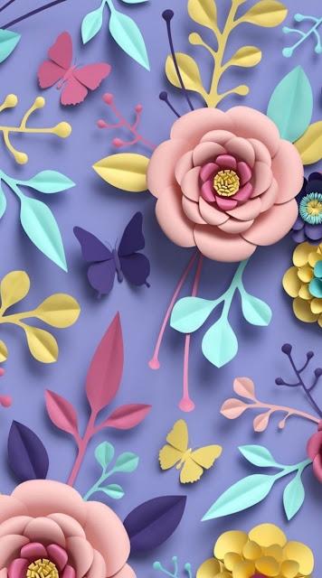Sfondi gratis per iPhone, fiori, colori, fantasia,
