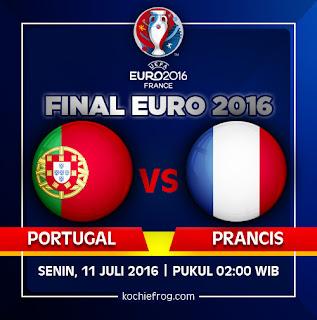 Gambar DP BBM Portugal Vs Prancis - Final Euro 2016