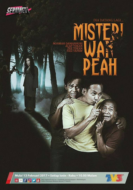 Drama Misteri Wan Peah ,Lakonan Usop Wilcha, Ariff Aziz