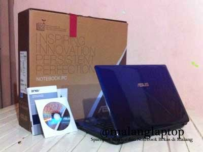 laptop bekas game asus a43sj fullset