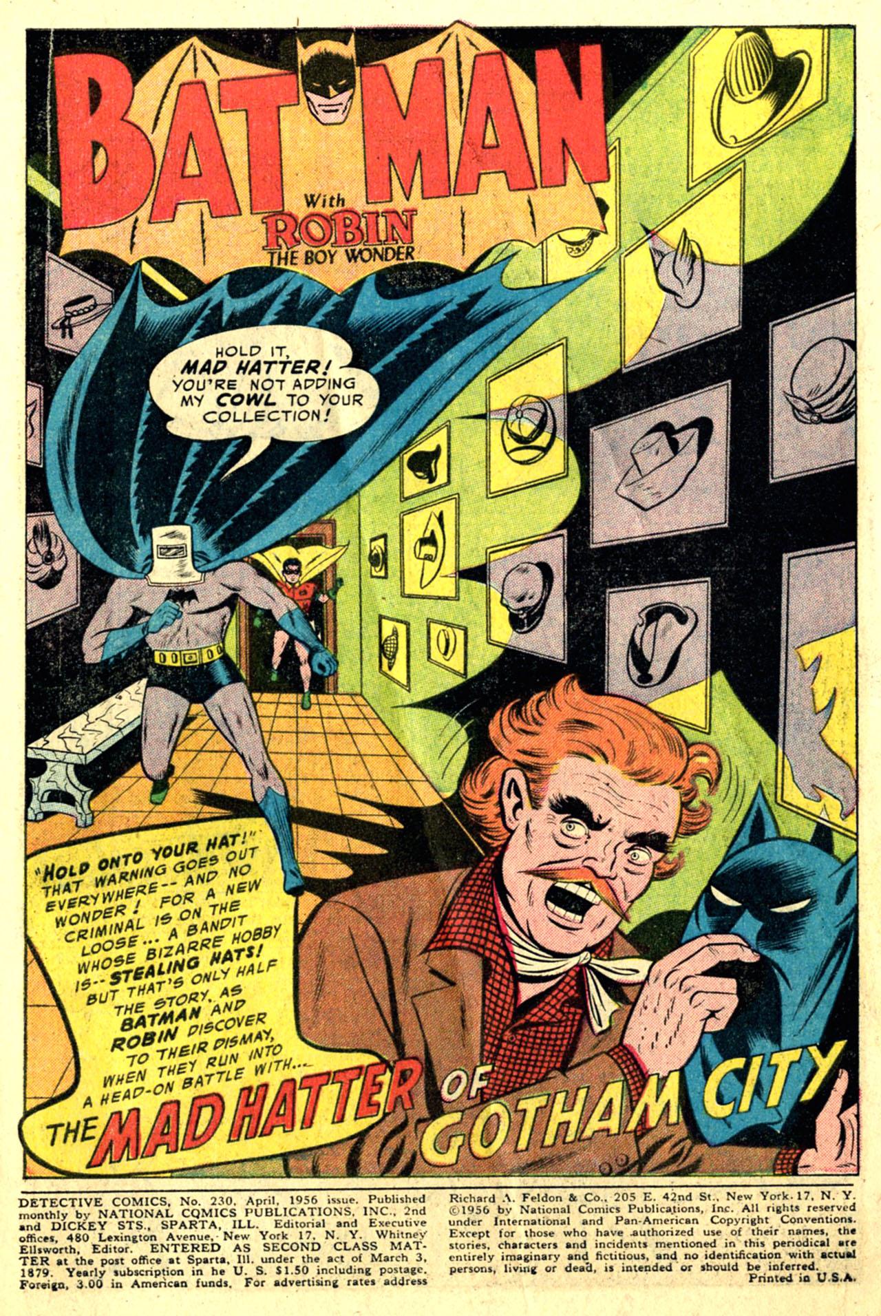 Detective Comics (1937) 230 Page 2