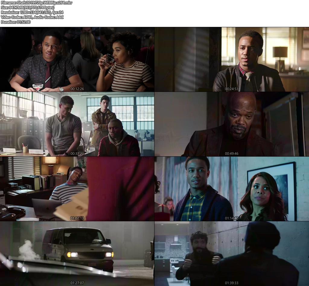 Shaft 2019 720p WEBRip x264 | 480p 300MB | 100MB HEVC Screenshot
