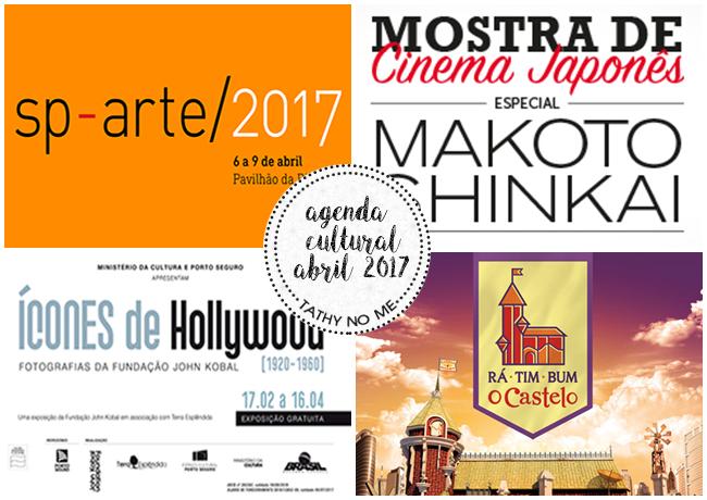 Agenda Cultural - Abril 2017