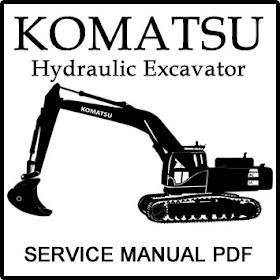 Construction Service Manual PDF: Komatsu PC340LC-7K PC340NLC-7K